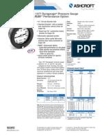 Datasheet Process Gauge 1377