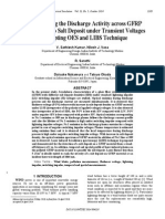 V.sathiesh Kumar_Understanding the Discharge Activity Across GFRP Material Due to Salt Deposit Under Transient Voltages by Adopting OES and LIBS Technique_2014