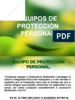 Seguridad Industrial - Equipos de Proteccion Personal.