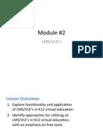 Module 2.2 LMS