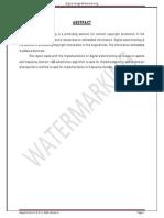 Watermarking Report