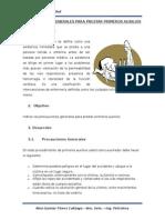 Trabajo de Investigación Ref. Precausiones Generales Para Prestar Primeros Auxilios