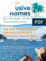 Exclusive Homes Phuket March May 2010