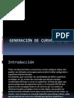 Generación de Curvas en 3D