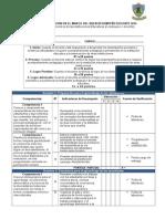 Ficha de Evaluacion 2014