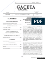 Estatutos Fundarte Nicaragua_2003