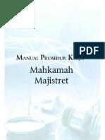 Manual Prosedur Kerja Mahkamah Majistret