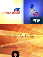 Government Service Hours
