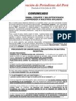 COMUINICADO FPP
