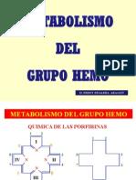 Metabolismo Del Grupo Hemo (Diapositivas)