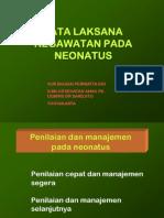 Kegawatan Neonatus GELS
