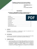 Ord Fap 1-1 Politicas y Lineamientos Doctrina 07-03-11