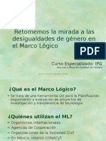 04 Marco Lógico y Género