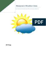 Malaysia Weather Data