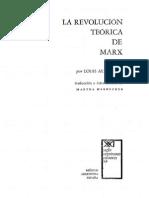 Althusser L La Revolucion Teorica de Marx