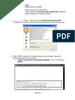 ESkwela Moodle Installation Guide- Windows