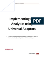 Implementing HR Analytics - Universal Adaptors