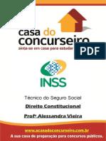 Direito Constitucional Inss 2015 Casa Do Concurseiro