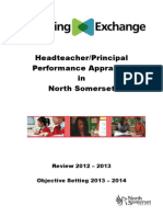 Headteacher Principal Performance  Appraisal in North Somerset.DOC