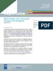 Repertoire Methodes Fle