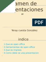 Yeray cuesta González