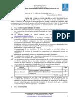 Processo Seletivo - Mestrado Em Direito 2016.1
