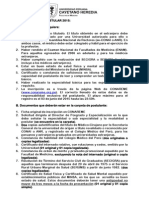 Requisitos Para Postular UPCH
