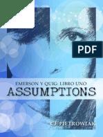 Assumptions - Ce Pietrowaik