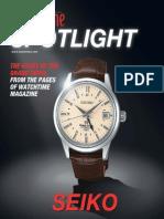 Watch Time Magazine Spotlight Grand Seiko