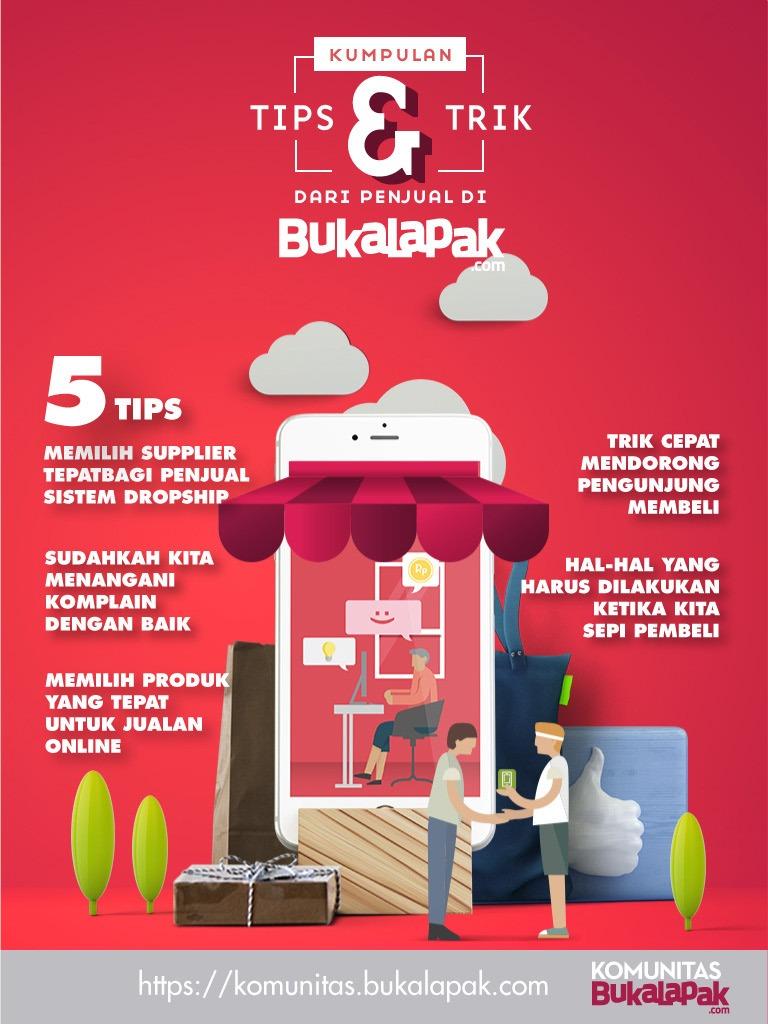 Ebook Tips Dan Trik Jualan Online Komunitas Bukalapak Edisi