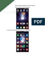 Manual de Configuracion de Correo Electronico en El Celular Asignado