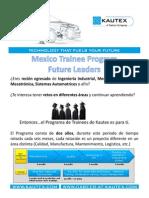Programa Tainee 2015