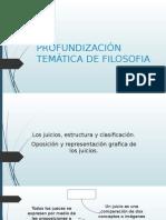 PROFUNDIZACIÓN TEMÁTICA FILOSOFIA