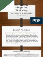 anderson unit 2 technology integration workshop