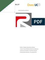 Informe de Practica Profesional 2015