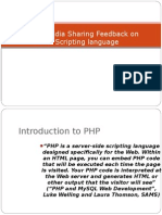 SynapseIndia Sharing Feedback on PHP Scripting Language