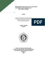 Skripsi Sistem Informasi