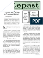 FEASTING AND FASTING IN CLASSICAL GREECE