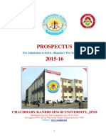 HryBEd2015 Complete Prospectus