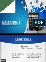 Auditing Ke-1 Pengertian Audit
