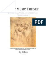 00 Basic Music Theory - Table of Contents