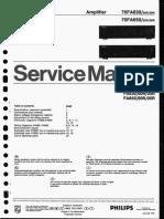 Philips FA630-650 Manual