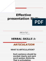 Presentation Skills- Latest
