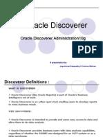 Discoverer10g Administration