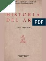 ANGULO, Diego Historia Del Arte