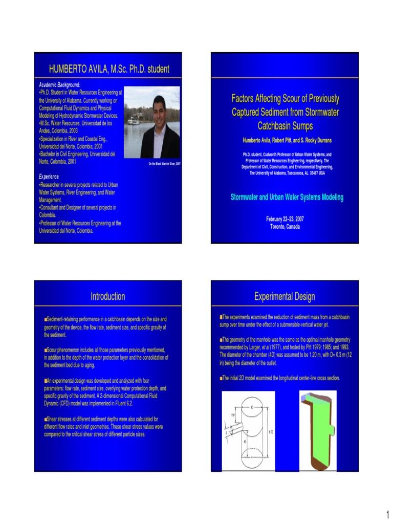 Factors Affecting Scour pdf | Sediment | Fluid Dynamics