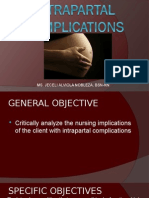 Intrapartal Complications