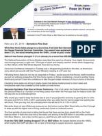 Bernanke's Pixie Dust
