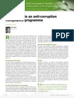 Anti-corruption & Bribery Toolkit 2015