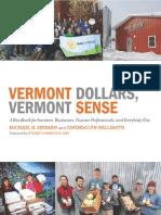 Vermont Dollars Vermont Sense (2015)
